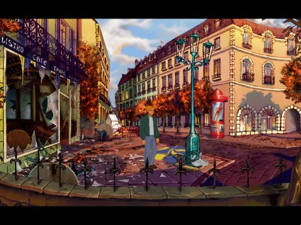 Broken Sword: Shadow of the Templars (Paris)