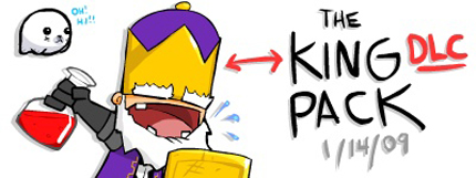Castle Crashers King DLC
