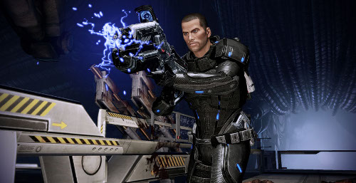 mass effect 2 how to get new weapons