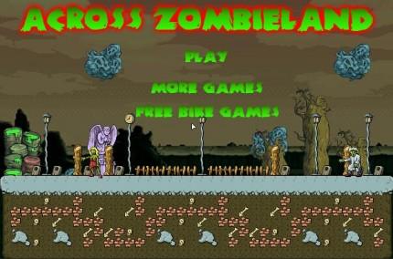 across zombie
