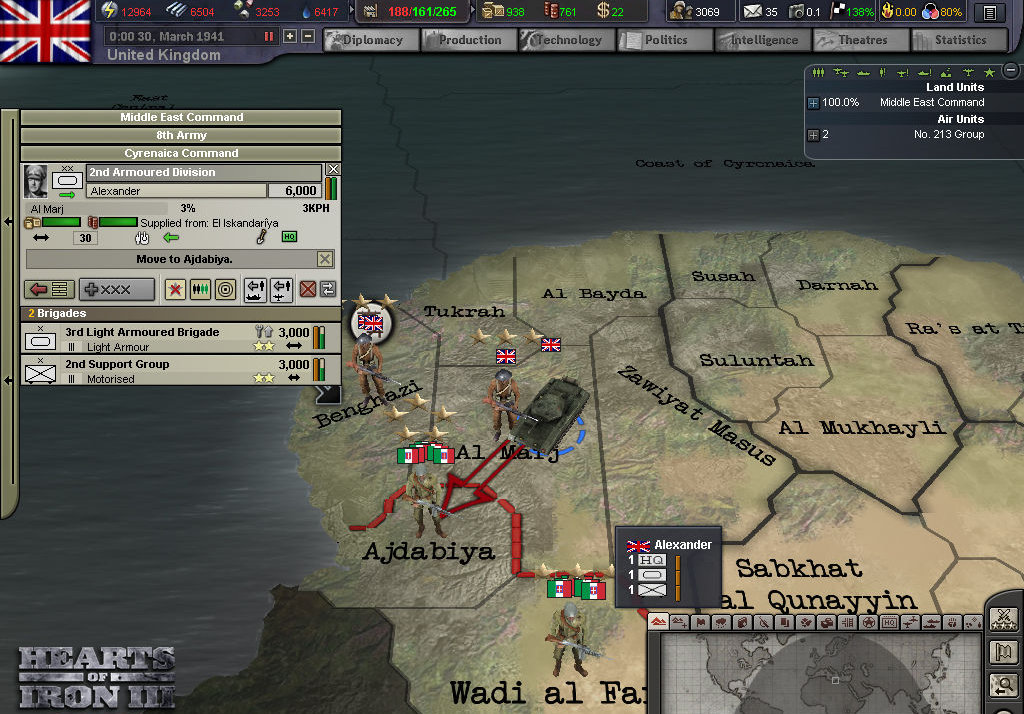 Hearts of Iron III: For the Motherland v3 ...