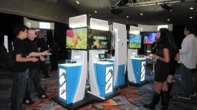 The Wii U Experience VIP Area in the Nintendo Gaming Lounge