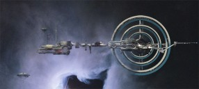 Proposed artwork for the forthcoming Terra Ex 4X space game - Base Station