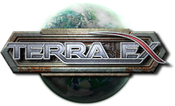 "Logo for the forthcoming space 4X game, ""Terra Ex"""